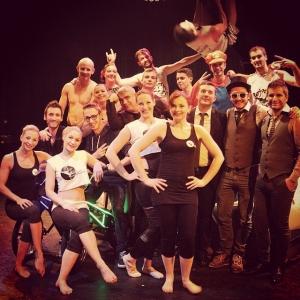 Cabaret show bmx leds